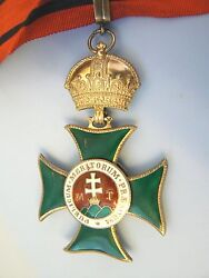 HUNGARY AUSTRIA EMPIRE ORDER OF ST STEPHEN STEFAN COMMANDER extremely rare