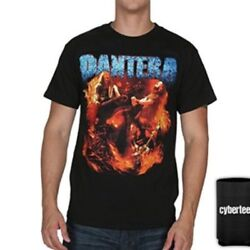 New: Officially Licensed PANTERA Group Photo Vintage Concert T Shirt Black $10.98