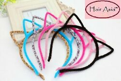 Fuzzy cat ear headband by HAIR ASIA 12 colors to choose from ships from USA $5.00