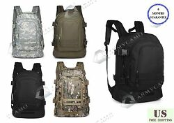 40L Outdoor Expandable Tactical Backpack Military Sport Camping Hiking Trekking $29.99