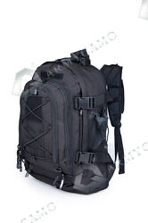 40L Outdoor Expandable Tactical Backpack Military Sport Camping Hiking Trekking $38.99