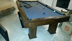 Contemporary Rustic Landon Legacy Pool Table $1999.00