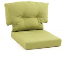 Swivel Chair Cushion Green Bean Replacement Outdoor Seat Patio Garden Dining New