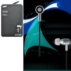 SAMSUNG SHE-D30SV In-Ear Headphones Premium Sound SHED30 Silver GENUINE