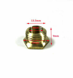 RCEXL 14mm to 10mm spark plug bushing adapters Copper Gas engine RC Plane Kit $6.99