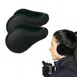 2 Ear Muffs Winter Ear warmers Fleece Earwarmer Mens Womens Behind the Head Band $5.99