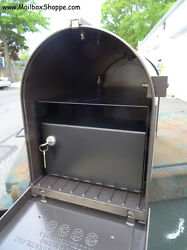 Whitehall Capital Post Mount Mailbox locking insert - Security Mail Box lockbox