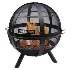 Landmann Ball of Fire Steel Bowl Fire Pit Outdoor and Patio Firepit