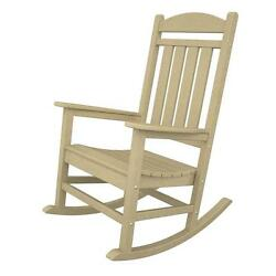 POLYWOOD Presidential Sand Patio Rocker Outdoor and Garden conversation chairs