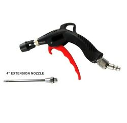 Turbo Air Blow Gun Kit Compressor Duster Nozzle Cleaning Blower Swivel Connector