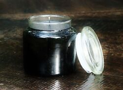 150hr EXOTIC BLACK MINT Triple Scented Huge 900g SOY JAR CANDLE with SNUFFER