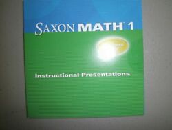 NEW - Saxon Math 1: Instructional Presentation CD-ROM by SAXON PUBLISHERS