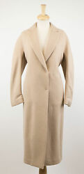 NWT BRUNELLO CUCINELLI Brown Cashmere Blend Full Length Coat Size 844 $6585