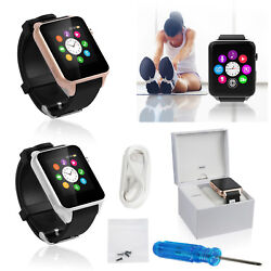 Wireless Smart Wrist Watch Phone Mate For iOS Android iPhone Samsung HTC LG