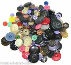 Mixed Buttons Lot Sewing Buttons Lot Craft Supplies Assorted Buttons 100 Pcs New