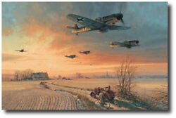 The Long Short Days by Robert Taylor- Bf109G - Nine Pilot Signatures
