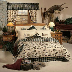 Northern Exposure 8 Pc KING Comforter Set - Great for Cabin or Lodge!