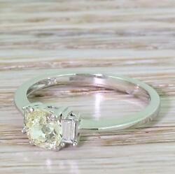 LATE 20th CENTURY 0.73ct OLD CUT DIAMOND ENGAGEMENT RING - 18k Gold - c 197