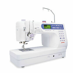 Portable Computerized Memory Craft Built-In Thread Trimmer Fast Sewing Machine
