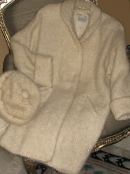 Vintage Fiber ART Wool Womens Coat STEIN Handwoven One of a Kind Excellent