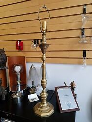 Antique Brass Lamp $250.00