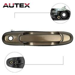 Beige Exterior Front Right Passenger RH Door Handle For 1998-2003 TOYOTA SIENNA