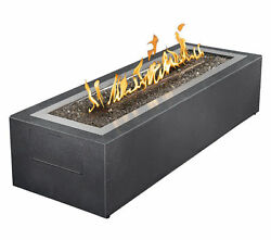 Napoleon GPFL48MHP Linear Outdoor Modern Patio Flame Fire Pit Fireplace Gas
