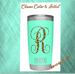 Monogram Vinyl Decal For Your Tumblers Cups Personalized Sticker 3