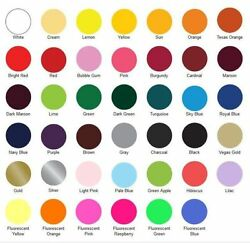 SISER EasyWeed HTV Heat Transfer Vinyl for T SHIRTS 15quot; x 1 3 5 YARDS $7.95