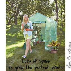 Heavy Duty Portable Garden Patio Small Walk In Greenhouse Cover Structure Kit