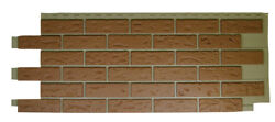 Mobile HomeRV Novik Red Used Blend Simulated Brick Skirting Panel (9 Pieces)