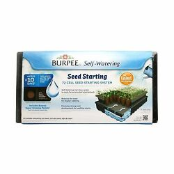 Burpee Outdoor Homes 72-Cell Greenhouse Self Watering Seed Starting System Kit