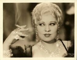 MAE WEST  SHE DONE HIM WRONG (1933) Vntg 8x10 photo
