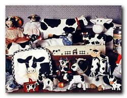 Toys Collection Holstein Cow Kids Room Wall Decor Kitchen Art Print Poster 16x20 $10.48