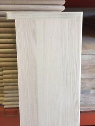 Solid Red Oak Wood Stair Treads 1quot; thick x 11 1 2quot; width 36quot; 42quot; 48quot; 54quot; $22.00