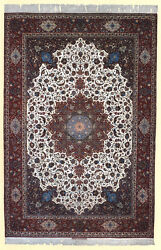BEST OF THE BEST RARE EXTRA LARGE PERSIAN ISFAHAN SEIRAFIAN - ARCHANG RUG