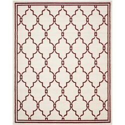 Safavieh Amherst Ivory Indoor Outdoor Rug - 9' x 12' Transitional