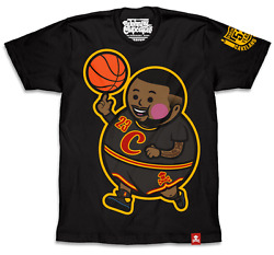 Johnny Cupcakes - LeBron James - Cleveland Cavaliers T-Shirt NBA MVP Big Kid