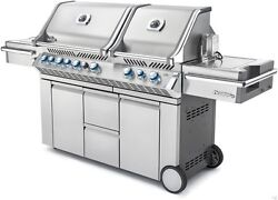 Napoleon PRO 825 Stainless Burner Gas BBQ grill outdoor kitchen NATURAL
