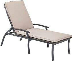 Home Styles Furniture Laguna Black Chaise Lounge Chair