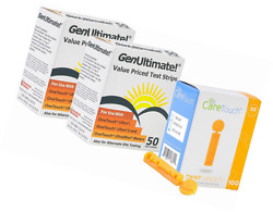 Genultimate Blood Glucose Test Strips for Use with One Touch Ultra Meter  100 (