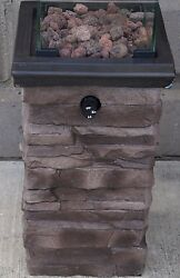Small Decorative Propane Fire Pit  Heater Outdoor