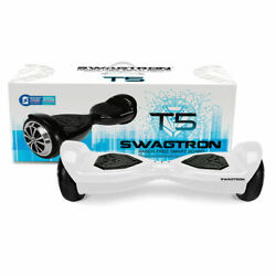 Refurbished SWAGTRON T5 Hoverboard UL2272 Certified Balancing Electric Scooter $73.99