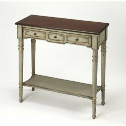 Butler Specialty Artists' Originals Console Table in Antique Gray