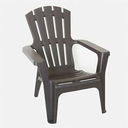 Thy-HOM Maryland Adirondack Chair in Brown