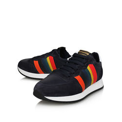 $450 new in box Paul Smith Suede and Leather SneakersTrainers. Navy or White