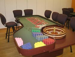 Casino Tables Stools and Supplies