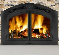 Napoleon NZ6000 Wood Burning Fireplace Large Painted Black Package Deal