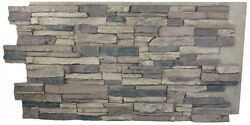 Stone Panel Natural Looking for Accent Wall Outside Stone Wall Faux Stone Panels