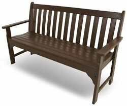 POLYWOOD GNB60MA Vi...Outdoor Patio Furniture Deck Porch Chair Garden Bench Seat
